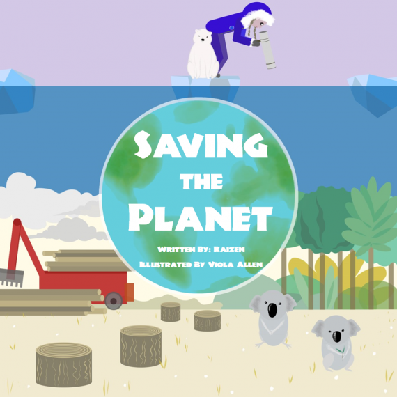 Saving The Planet Book Cover